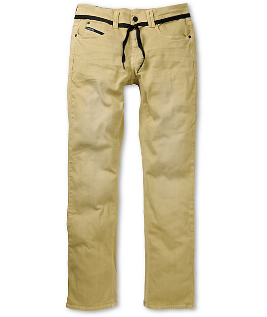Empyre Skeletor Khaki Denim Skinny Jeans ...