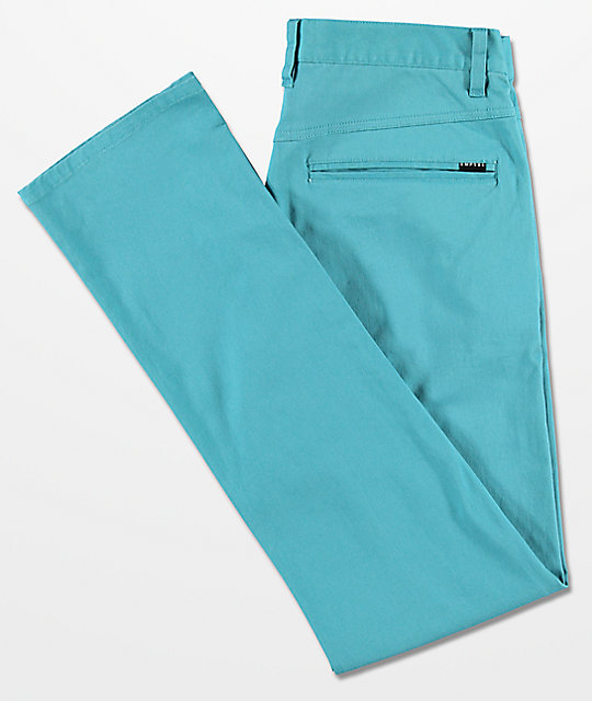Empyre Skeletor Larkspur Blue Chino Pants