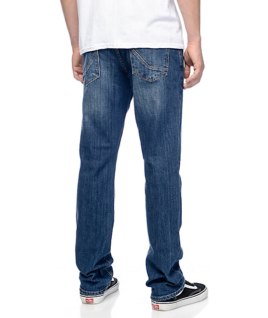 Empyre Sledgehammer Regular Fit Coastal Blue Jeans