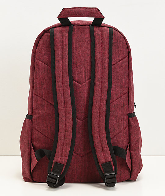 Empyre Smith Heather Burgundy Backpack