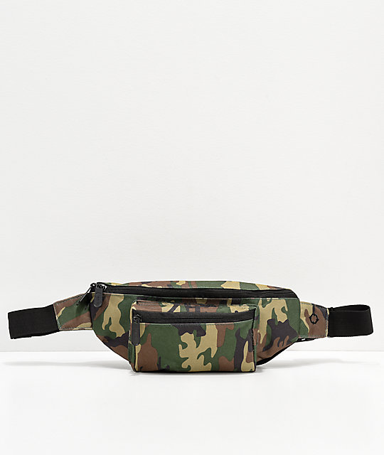 Empyre Smithpack Woodland Camo Fanny Pack