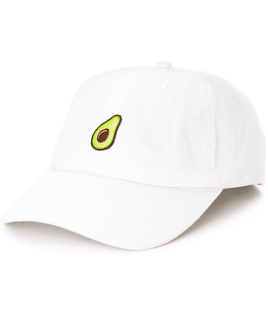 Empyre Solstice Avocado White Baseball Hat  1c51493758a