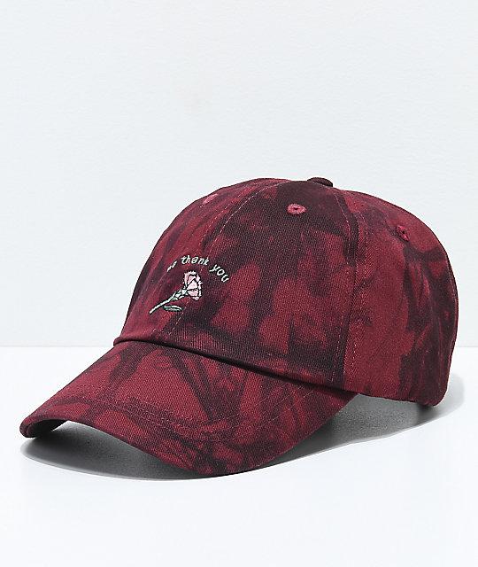843df8eb3fa Empyre Solstice No Thank You Burgundy Dad Hat