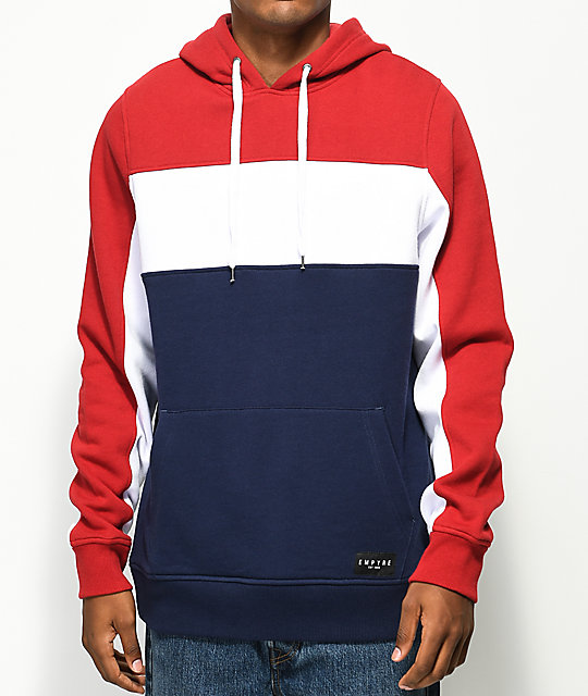 Empyre Sophomore Red, White & Blue Hoodie