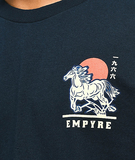 Empyre Stallion Navy T-Shirt