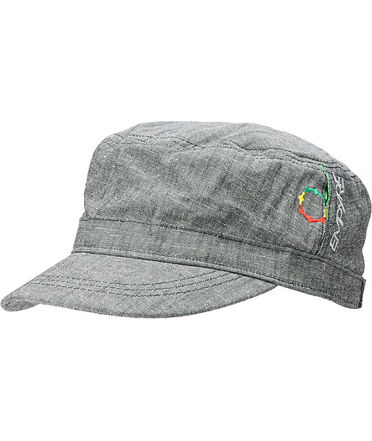 Empyre Stir It Up Grey Military Adjustable Hat
