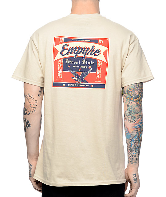 Empyre Street Style Sand T-Shirt