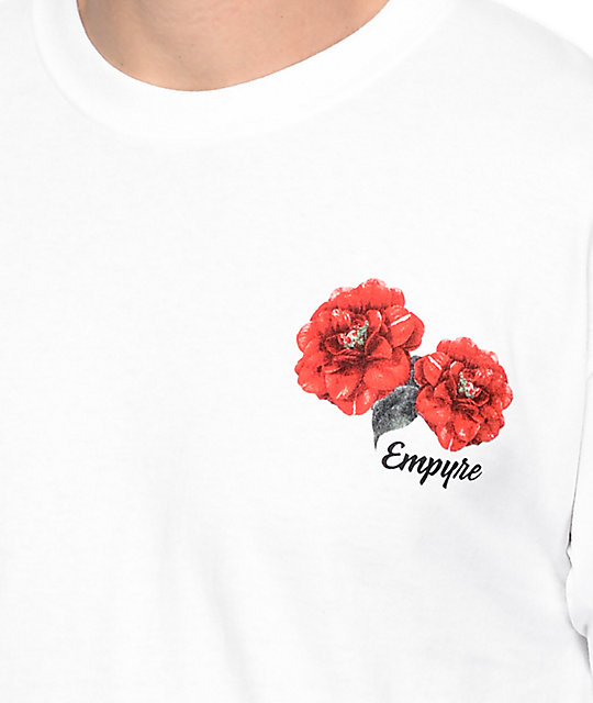 Empyre Summer Floral White T-Shirt