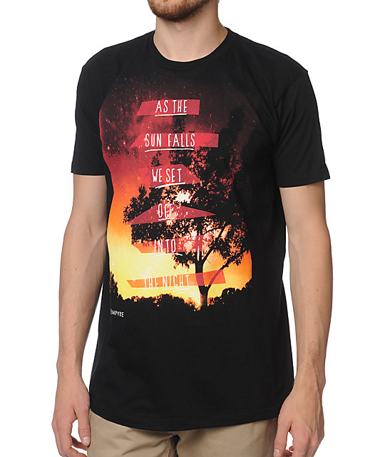 Empyre The Night Falls Black T-Shirt