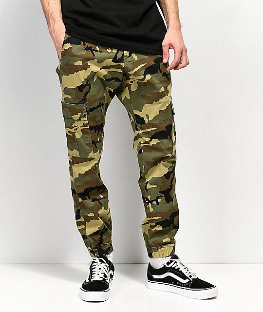 cozy fresh super cute new styles Empyre Traveler Camo Cargo Jogger Pants