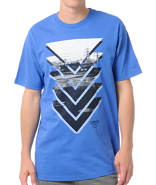 Empyre Tri Stack Blue T-Shirt