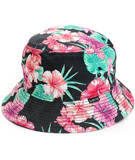 f68e8a491abeb Empyre Tropi Gal Floral Bucket Hat