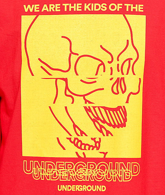 Empyre Underground Red Long Sleeve T-Shirt