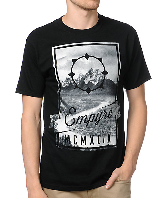 Empyre Vast Black T-Shirt