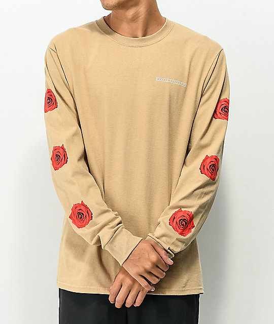 ... Empyre Vertigo Rose Natural Long Sleeve T-Shirt ... 65e68de2c