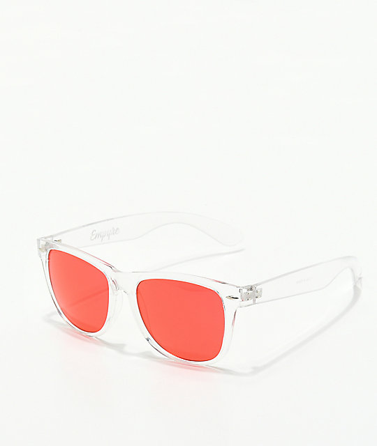 Empyre Vice Basic Black & Red Sunglasses