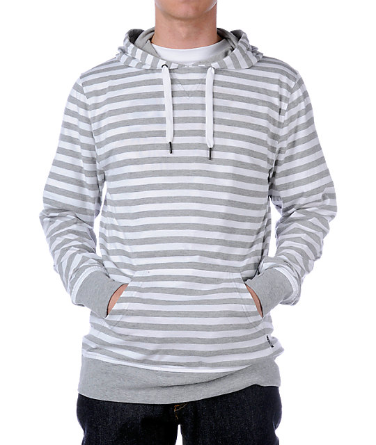 Empyre Warm Up White & Grey Knit
