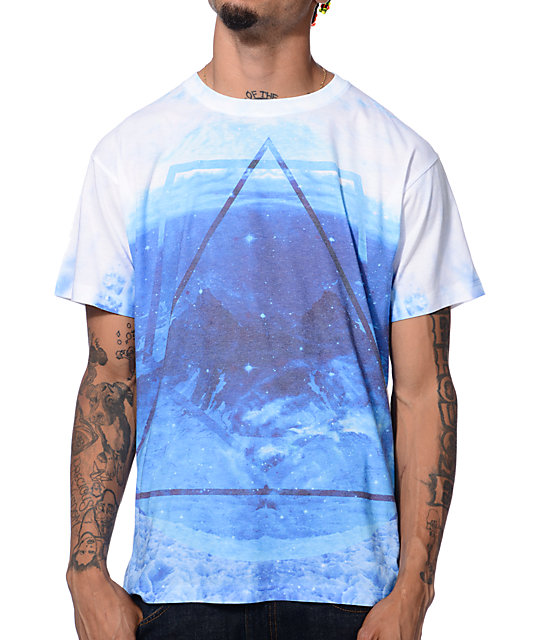 Empyre Waves Collide White T-Shirt