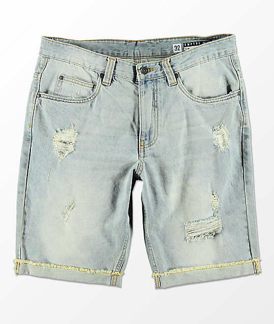 Empyre Westport Distressed Denim Shorts
