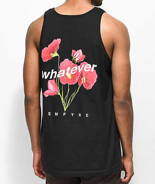 Empyre Whatever Black Tank Top