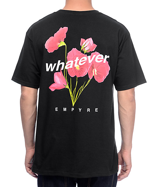 Empyre Whatever Forever camiseta negra
