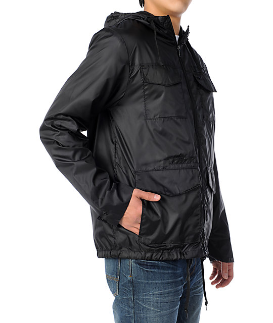 Empyre Windsheer Black Windbreaker