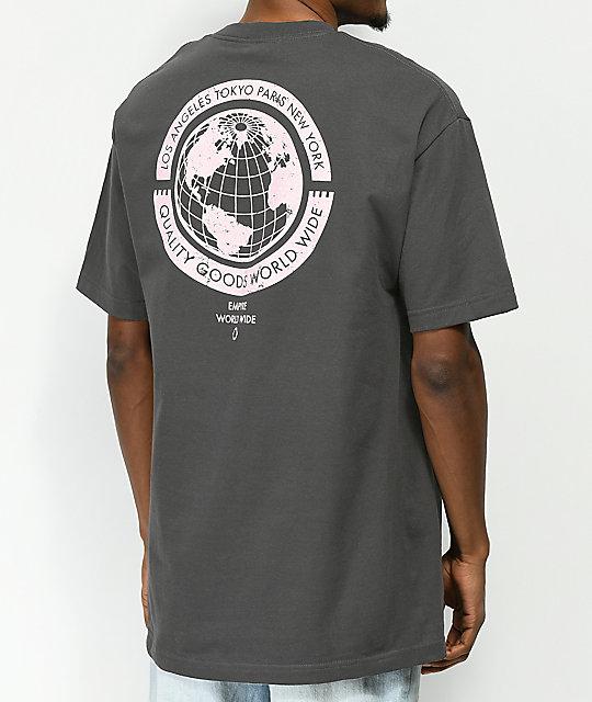 00abb0fb Empyre Worldwide Washed Black T-Shirt | Zumiez.ca