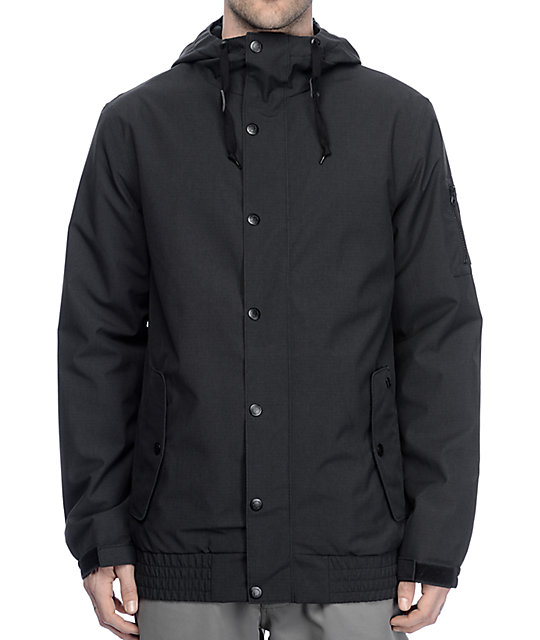 a065db27089 Empyre Yard Sale 10K Black Snowboard Jacket