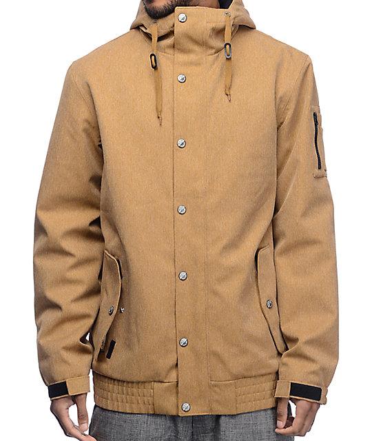 6b94517bba0 Empyre Yard Sale 10K Khaki Snowboard Jacket