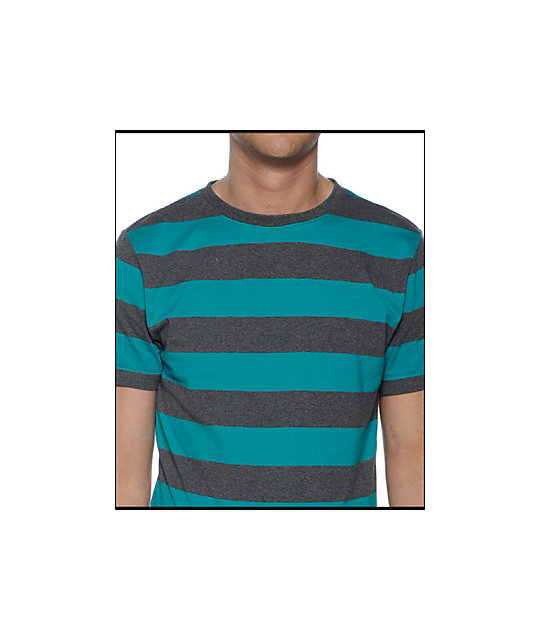 Empyre Yarder Charcoal Stripe Knit
