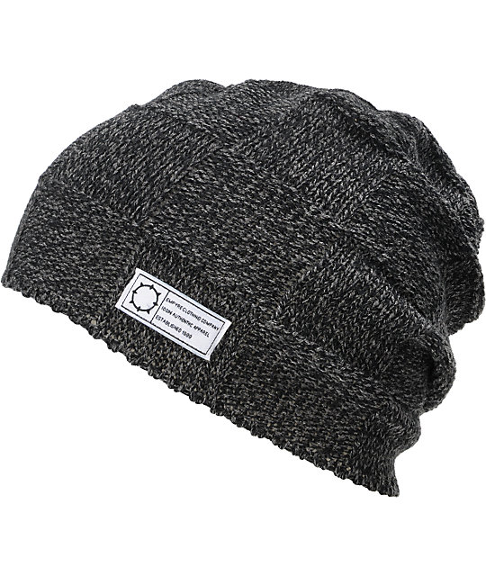 Empyre Yosemite Black Knit Beanie