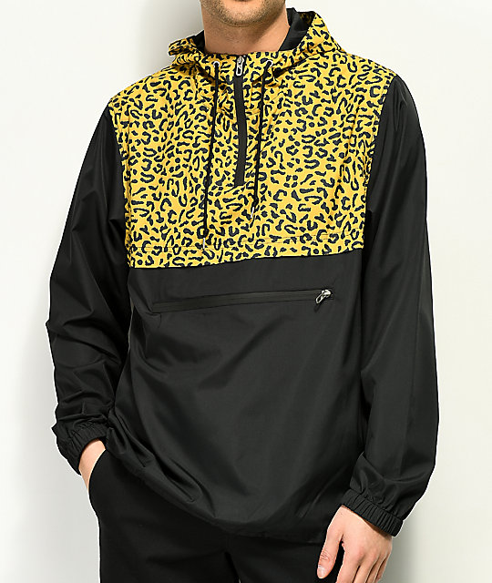 Zumiez guepardo en chaqueta anorak Empyre estampado negro y de 8w0xAqp