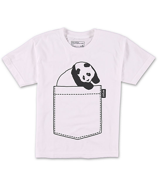 Enjoi Boys Jumbo Pocket T-Shirt