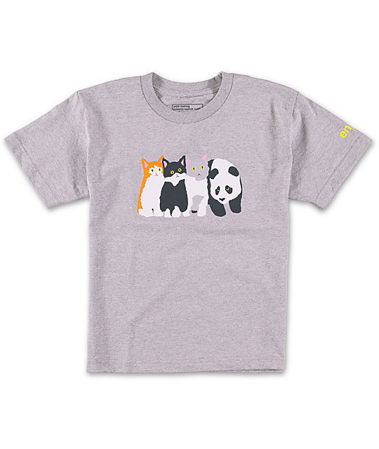 Enjoi Boys Meow Meow T-Shirt