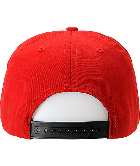 Enjoi Dictator-Tots Red Snapback Hat