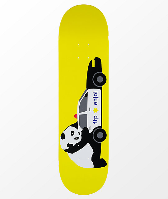 "Enjoi FTP Panda 8.25"" Skateboard Deck"
