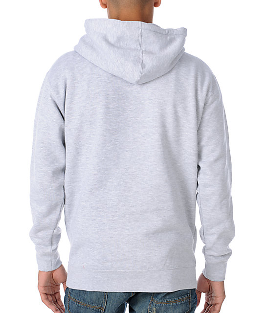 Enjoi Free Candy Van Heather Grey Pullover Hoodie