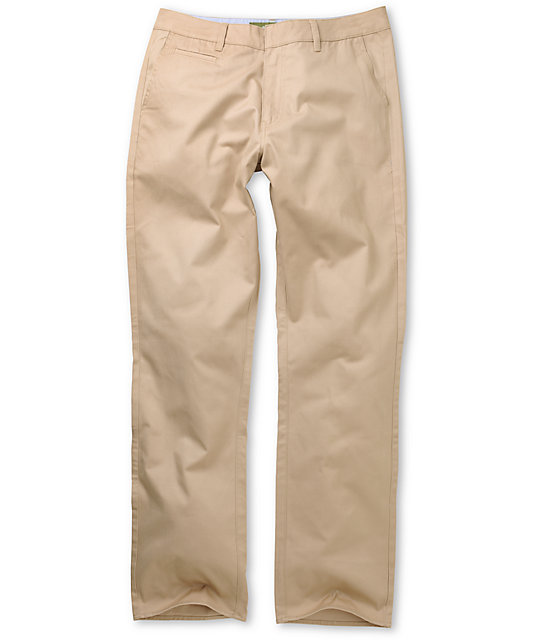 Enjoi Fumigation Station Khaki Chino Pants