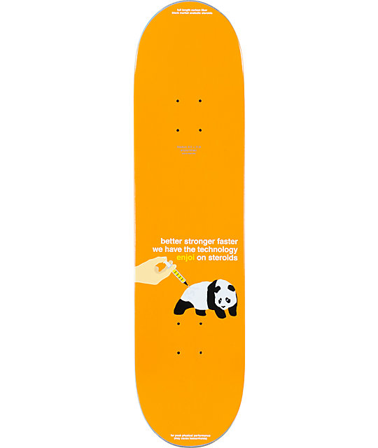 "Enjoi Hsu Jerrywood EOS 8.0""  Skateboard Deck"