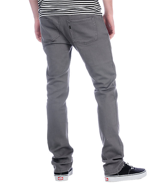 Enjoi Mano 2 Grey Acid Jeans