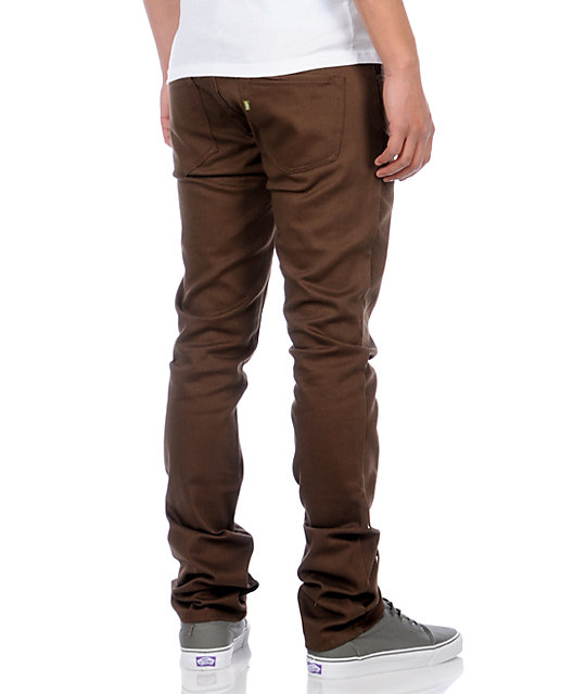 Enjoi Mano 3 Brown Jeans