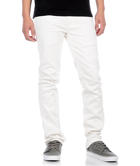 Enjoi Mano 3 White Jeans