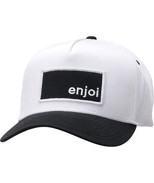 Enjoi Munching Box White & Black Hat