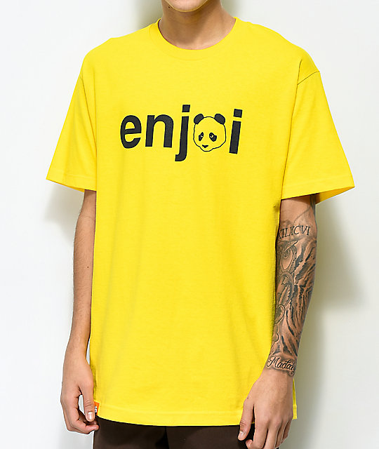 Enjoi No Brainer Yellow T-Shirt