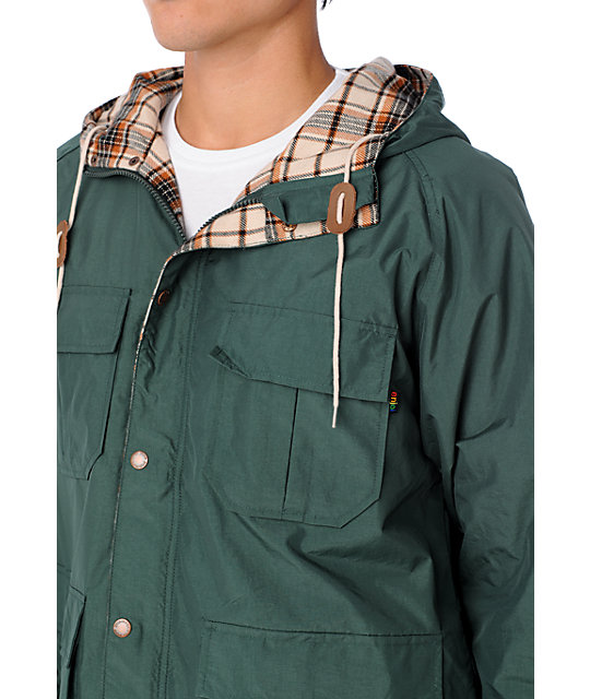 Enjoi Oregon Donor Green Jacket