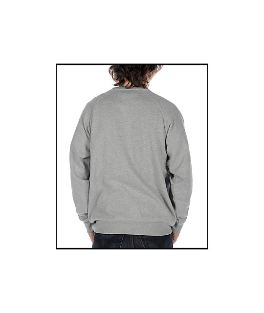 Enjoi Pandaconda Grey Crew Neck Sweatshirt