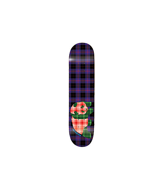 "Enjoi Plaids Hsu 7.7""  Skateboard Deck"