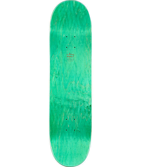 "Enjoi Rasta Panda Large 8.4""  Skateboard Deck"