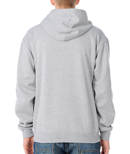 Enjoi Shifty Heather Grey Pullover Hoodie