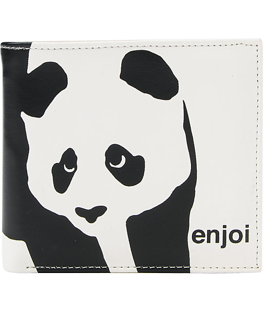 Enjoi Whitey Bifold White Wallet